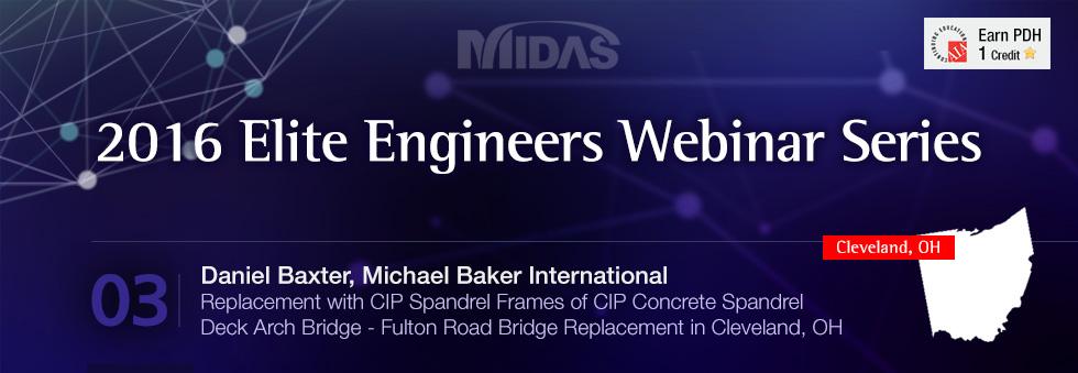 2016 Elite Engineers Webinar Series, Daniel Baxter, Michael Baker