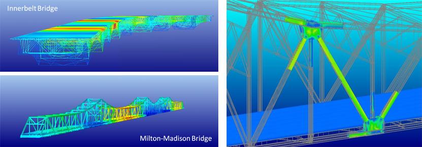 Models: Innerbelt Bridge, Milton-Madison Bridge