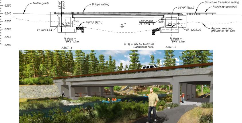 New Bridge Graphic