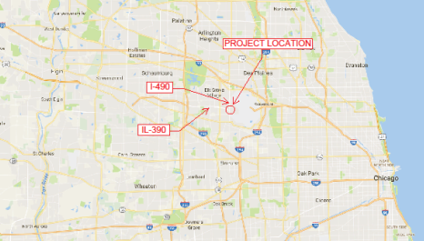Licensed-Map of Project Location-MIDASoft