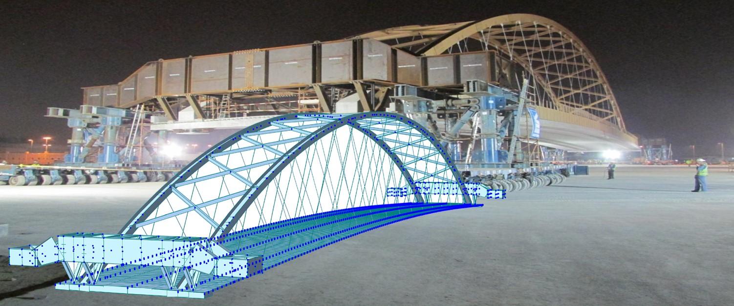Licensed-Detailed and nonlinear analysis for steel bridge design-MIDASoft