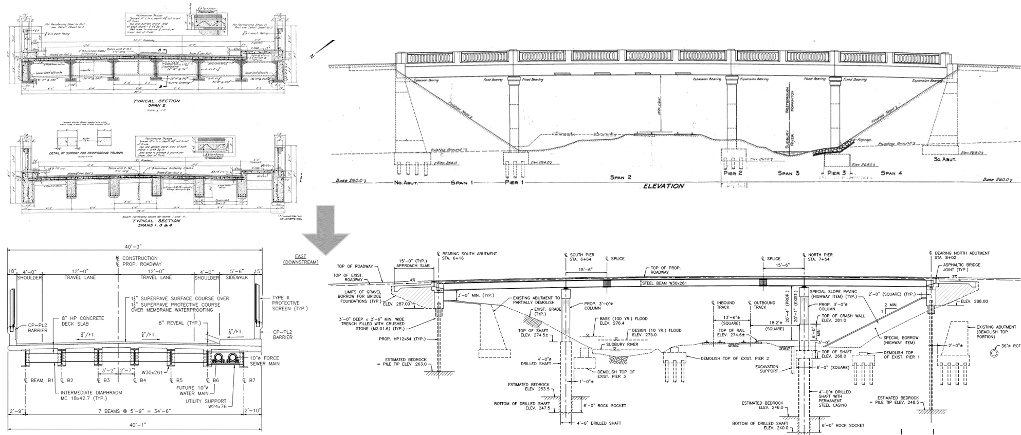 Bridge Design Drawings